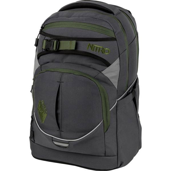Nitro Superhero Rucksack Pirate Black 30L