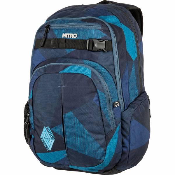 Nitro Chase 35L Rucksack Fragments Blue