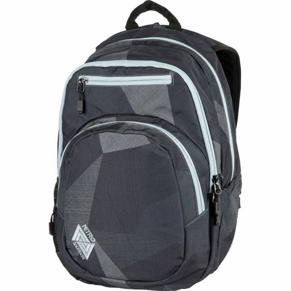 Nitro Stash 27L Rucksack Fragments Black