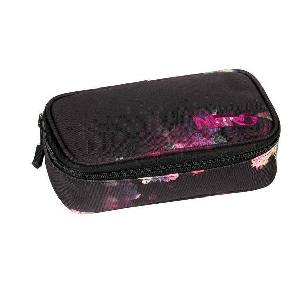 Nitro Pencil Case XL Mäppchen Black Rose