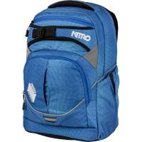 Nitro Superhero Rucksack Blur Brilliant Blue 30L