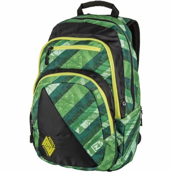 Nitro Stash 27L Rucksack Wicked Green
