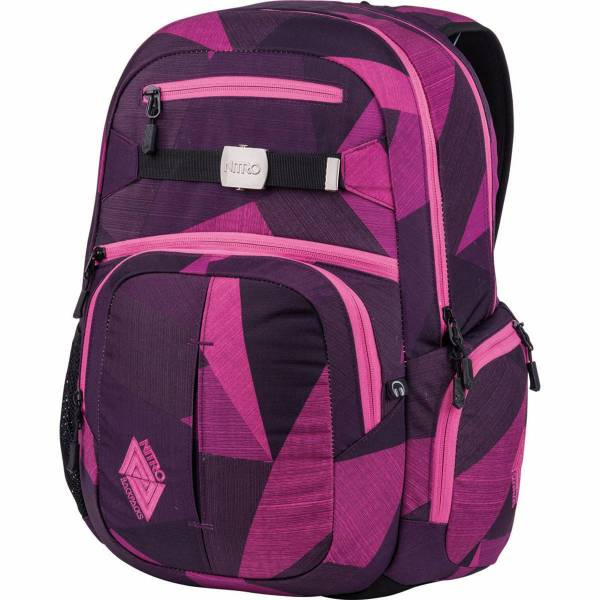 Nitro Hero 37L Rucksack Fragments Purple