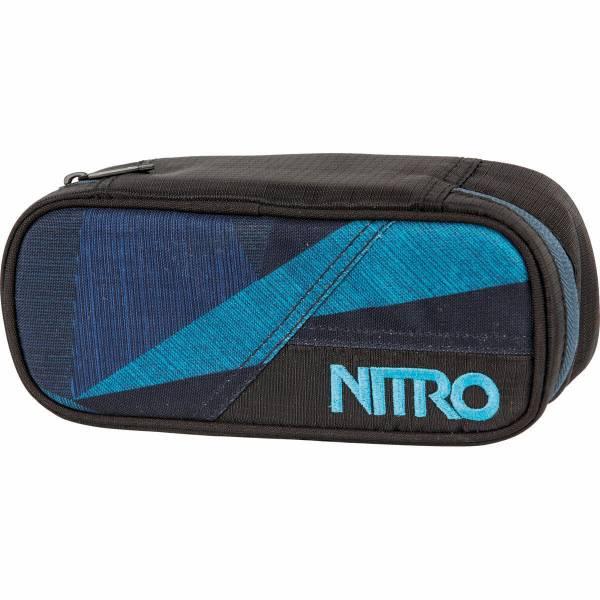 Nitro Pencil Case Mäppchen Fragments Blue