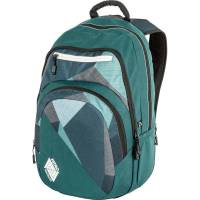 Nitro Stash Rucksack Fragments Green 29 L