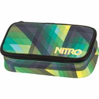 Nitro Pencil Case XL Mäppchen Geo Green