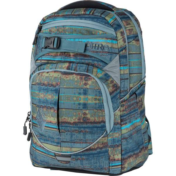 Nitro Superhero Rucksack Frequency Blue 30L