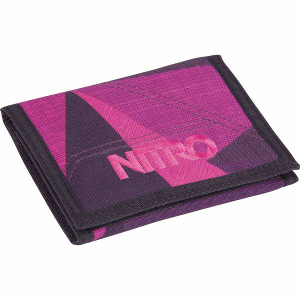 Nitro Wallet Geldbeutel Fragments Purple