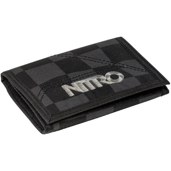 Nitro Wallet Geldbeutel Black Checker