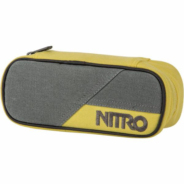 Nitro Pencil Case Mäppchen Gunmetal