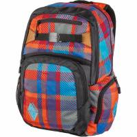 Nitro Hero Rucksack Plaid Red Blue 37 L