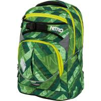 Nitro Superhero Rucksack Wicked Green 30L