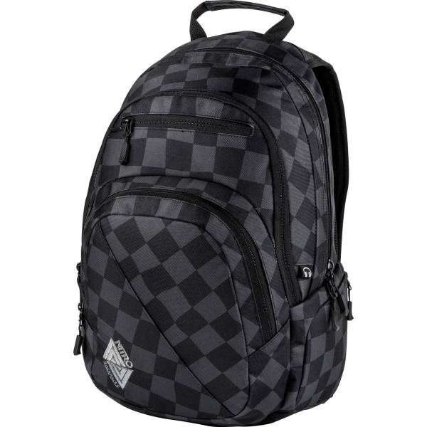 Nitro Stash Rucksack Black Checker 27 L