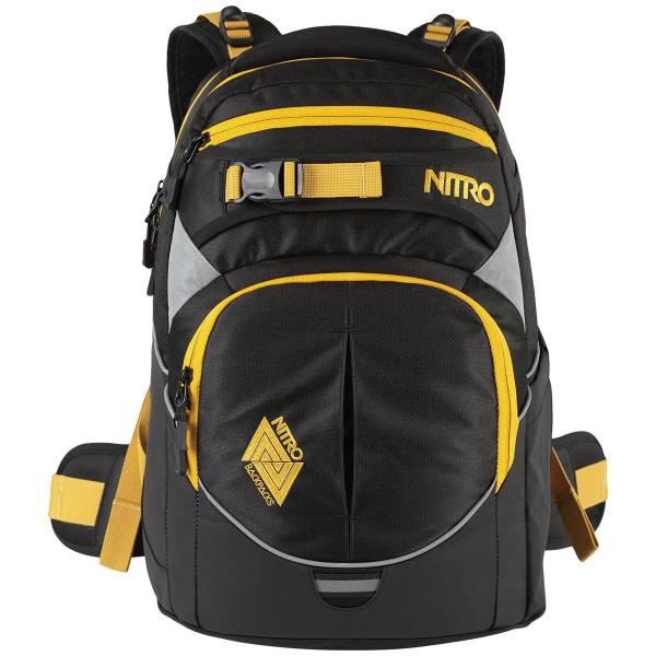 Nitro Superhero Rucksack Golden Black 27L