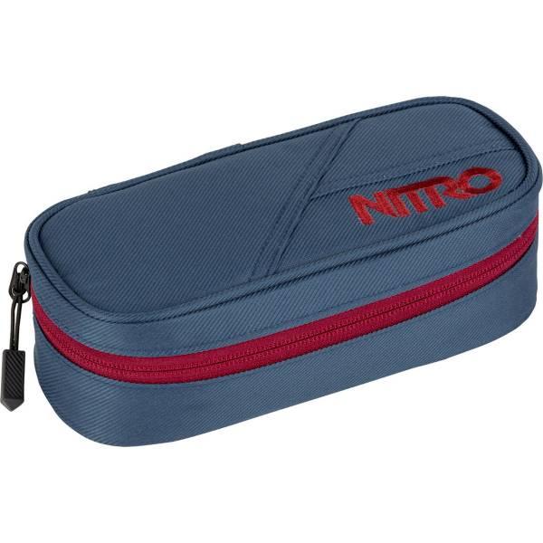 Nitro Pencil Case Mäppchen Blue Steel
