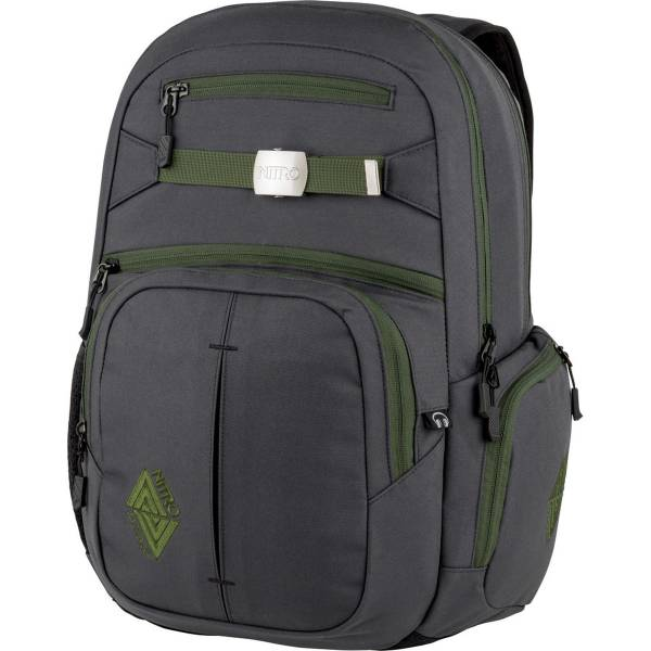 Nitro Hero Rucksack Pirate Black 37L
