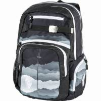 Nitro Hero Rucksack Mountains Black White 37 L
