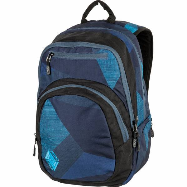Nitro Stash 27L Rucksack Fragments Blue