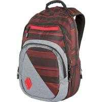 Nitro Stash Rucksack Red Stripes 29 L