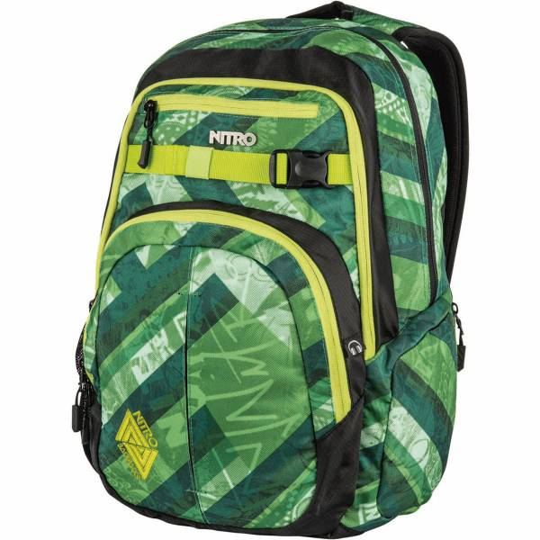 Nitro Chase 35L Rucksack Wicked Green
