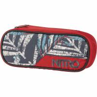 Nitro Pencil Case Mäppchen Broken Palms