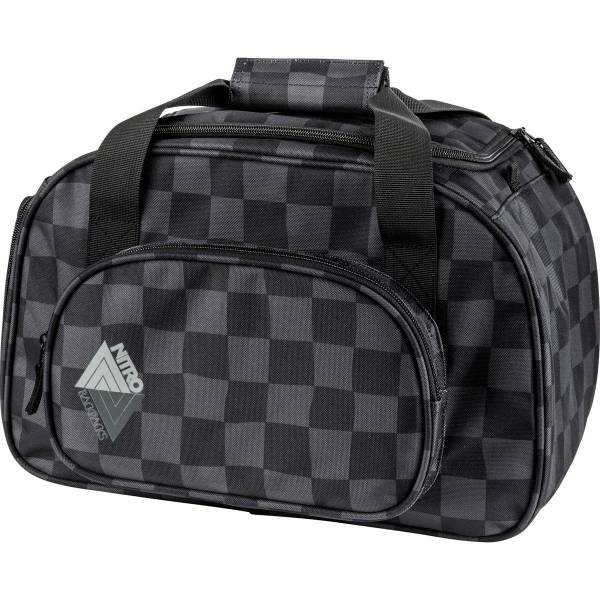 Nitro Duffle Bag XS Sporttasche Black Checker 35 L