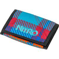 Nitro Wallet Geldbeutel Plaid Red Blue