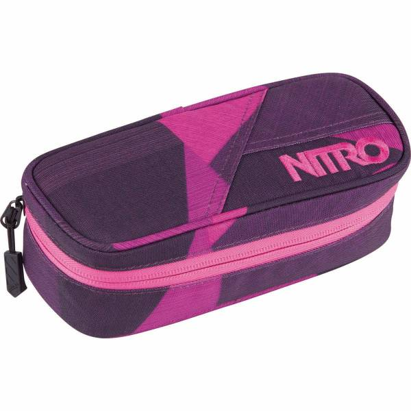 Nitro Pencil Case Mäppchen Fragments Purple