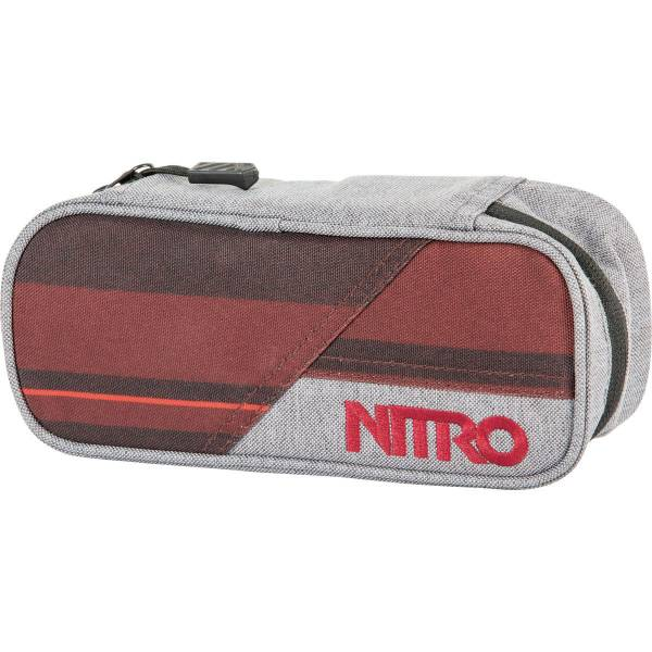 Nitro Pencil Case Mäppchen Red Stripes