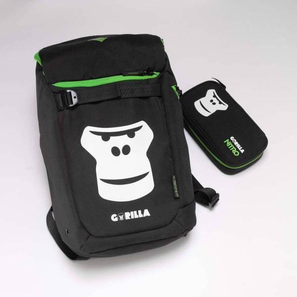 Nitro Nikuro Rucksack + Pencil Case XL Gorilla 26L