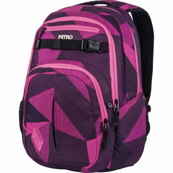 Nitro Chase 35L Rucksack Fragments Purple