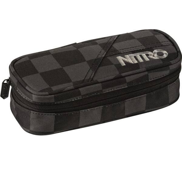 Nitro Pencil Case Mäppchen Black Checker