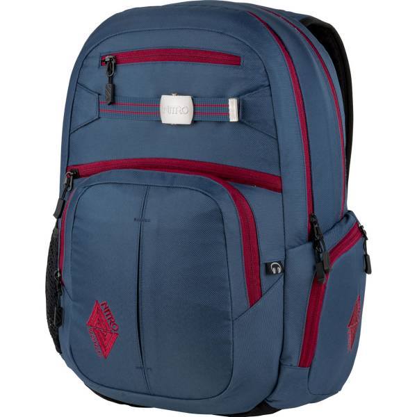 Nitro Hero Rucksack Blue Steel 37L