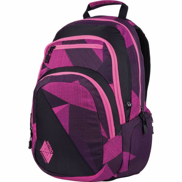 Nitro Stash 27L Rucksack Fragments Purple