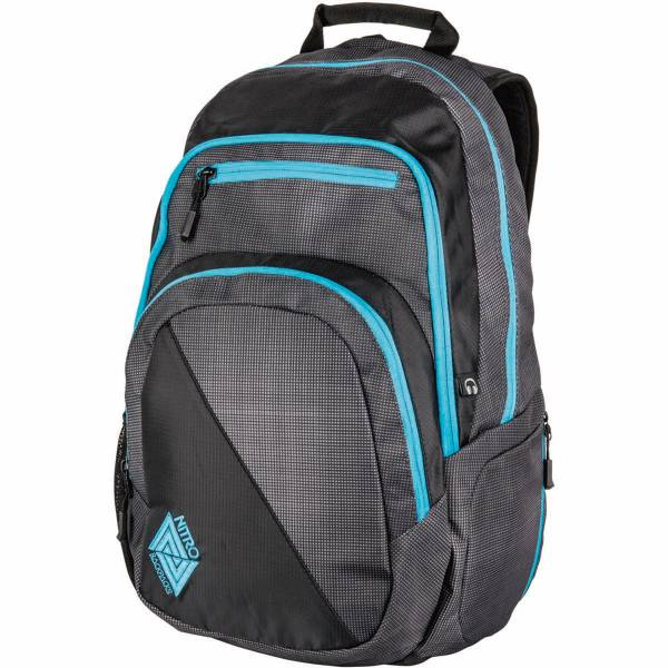 Nitro Stash 27L Rucksack Blur Blue Trims