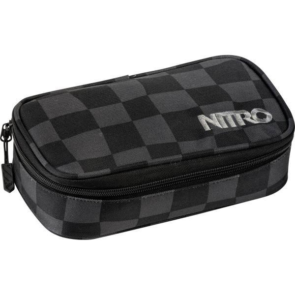 Nitro Pencil Case XL Mäppchen Black Checker