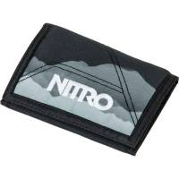 Nitro Wallet Geldbeutel Mountains Black White