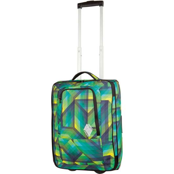 Nitro Team Carry On 36L Trolley Geo Green
