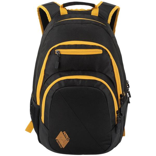 Nitro Stash Rucksack Golden Black 29L