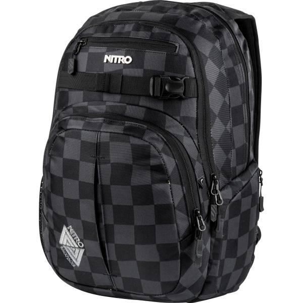 Nitro Chase Rucksack Black Checker 35 L
