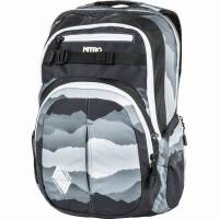 Nitro Chase Rucksack Mountains Black White 35 L