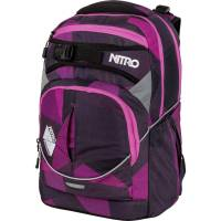 Nitro Superhero Rucksack Fragments Purple 30L