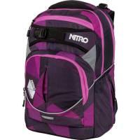 Nitro Superhero Rucksack Fragments Purple 30L