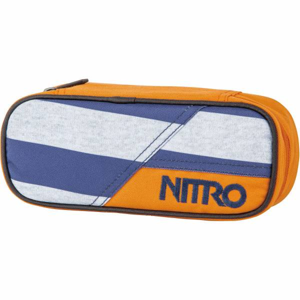 Nitro Pencil Case Mäppchen Heather Stripe
