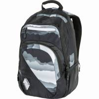 Nitro Stash Rucksack Mountains Black White 29 L